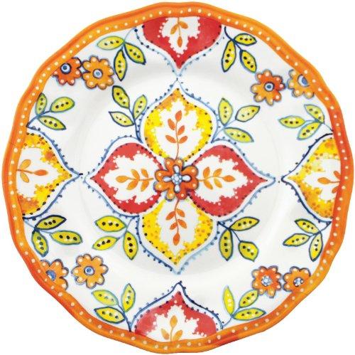 Plate Dinner Blossom Time (Le Cadeaux Orange Blossom 11