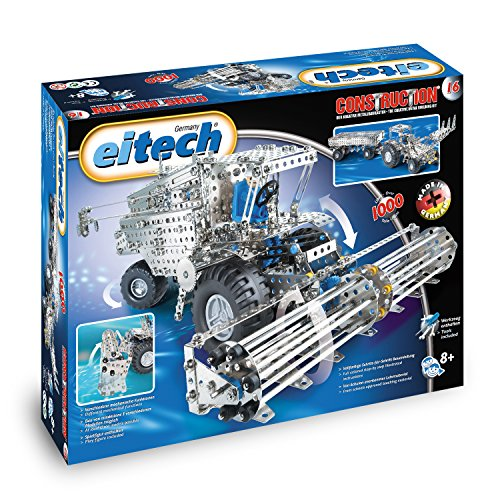 Eitech Metallbaukasten C16 Mähdrescher / Traktor