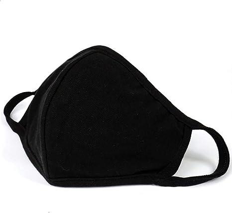 masque anti poussiere noir reutilisable