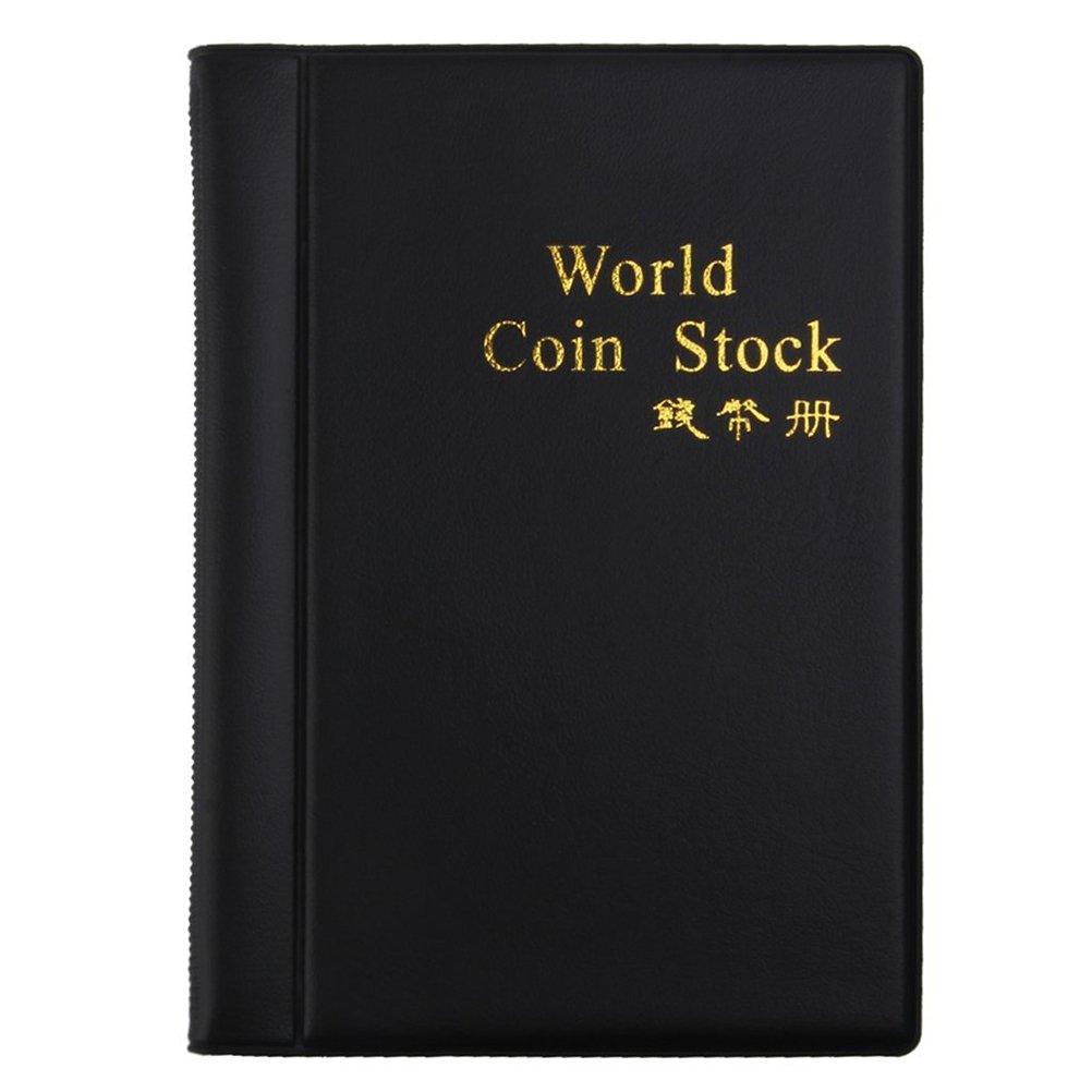 LUOEM 120 Münzsammler Taschenalbum für Münzen