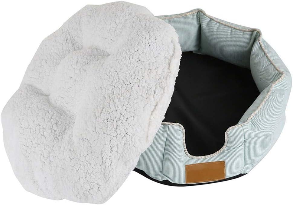 MOMIN-pet Mascota Perro Gato Cama Suave Perro Lavable para Mascotas Cesto cálido Cama Cálido Cesto Mascotas Almohada de la Cama del Animal doméstico: Amazon.es: Hogar