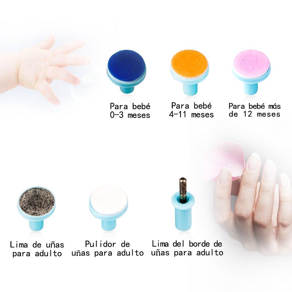 Yober Lima de uñas para bebés Seguridad para Los Dedos de Manos y ...