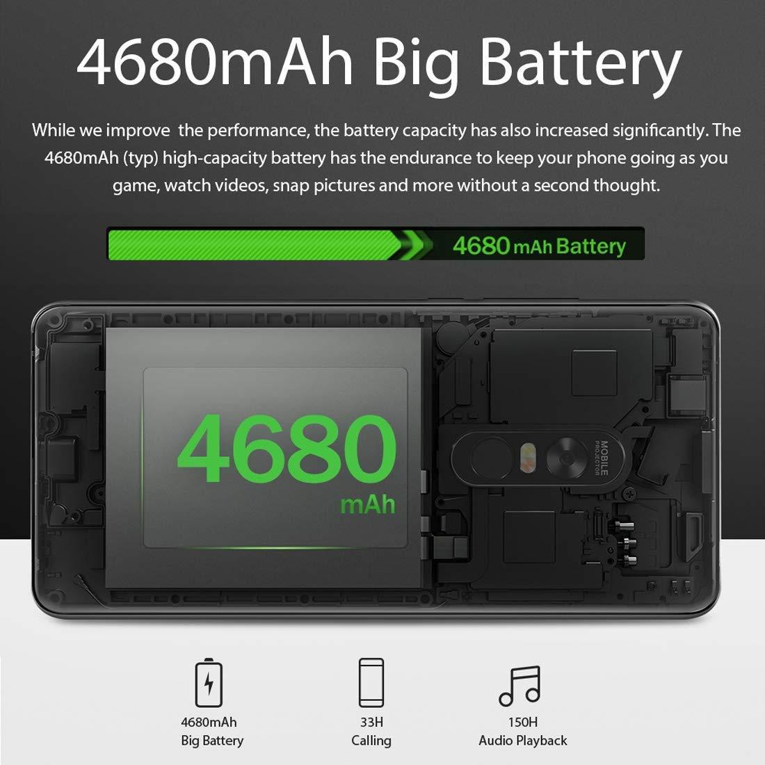 Blackview MAX 1 6GB + 64GB 4680mAh Batería 6.01 Pulgadas Android ...