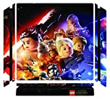 Lego Star Wars: The Force Awakens Game Skin for Sony Playstation 4 Slim - PS4 Slim Console - 100% Satisfaction Guarantee!