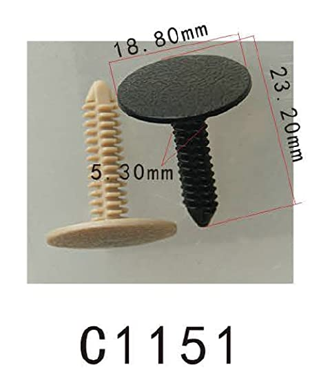 Guarnición de la puerta Xmas-árbol-tipo clip de nylon del retenedor