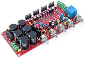TDA7294 2.1 Channel 280W +160W Subwoofer Audio Stereo AMP Digital HiFi Power Amplifier Board Module for Home Theater (18-28V AC)