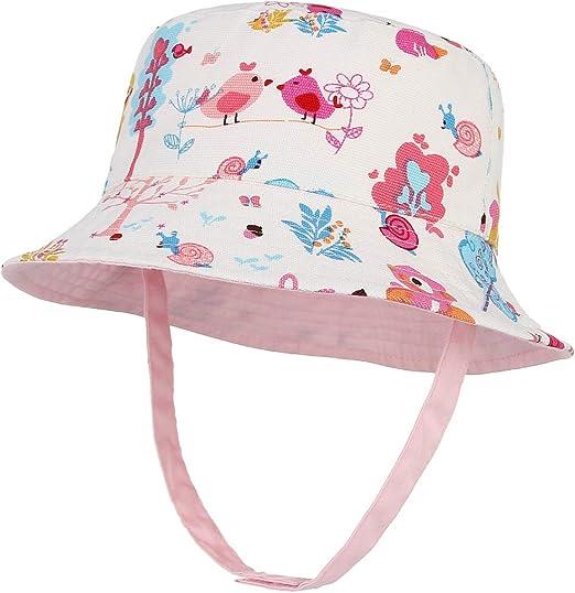 Bébé filles Chapeau printemps été chapeau de soleil bonnet 0-12 mois