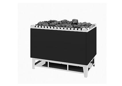 Sauna Horno de Stand Modelo tipo 104 - 36 kW Antracita abrigo ...