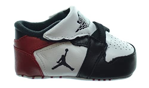 cec0b5f636b Jordan 1st Crib (CB) Infants Shoes White/Black-Gym Red 370305-102 ...