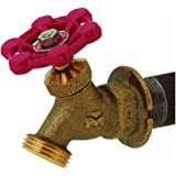 Mueller/B & K 108-004 Outdoor Hose Lawn Faucet 3/4-Inch Brass Female Pipe Thread Sillcock