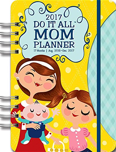 Orange Circle Studio 17-Month 2017 Do It All Planner, Mom's Do It All -