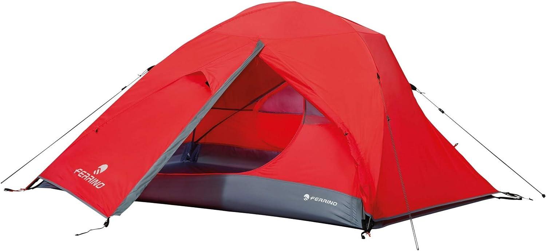 91137 Rosso Ferrino Tenda Flare 2 posti Mod