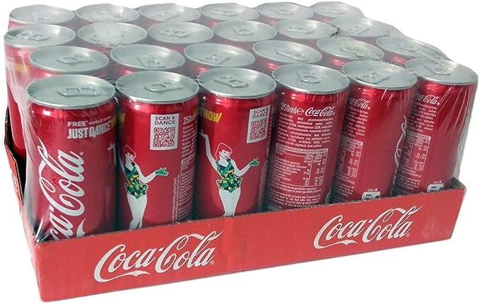250 ml de Coca-Cola (Paquete de 24 x 250 ml): Amazon.es: Alimentación y bebidas