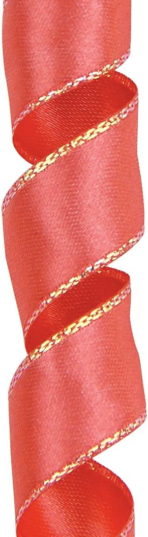 1-1//2-Inch by 25-Yard Spool Coral Offray Olivia Craft Ribbon