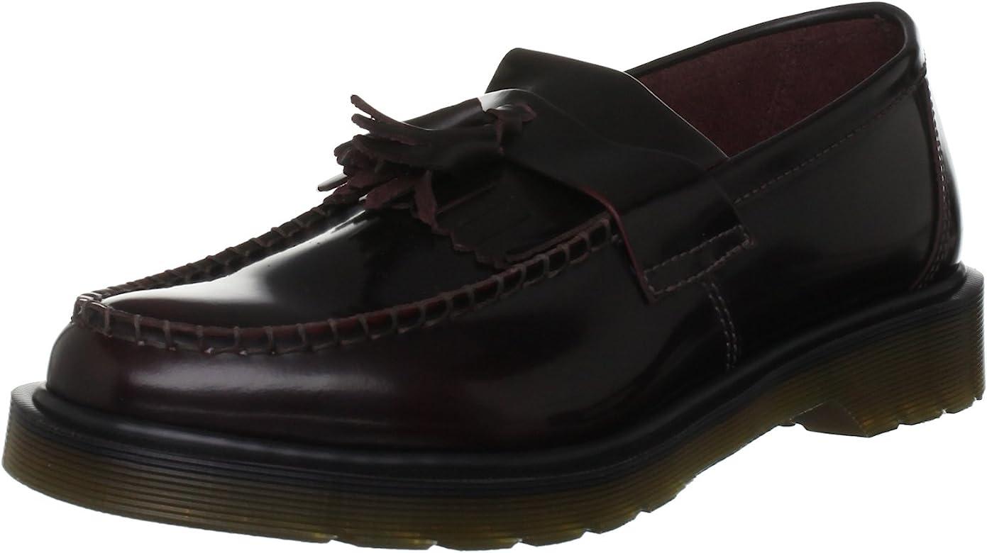 Dr Martens DMSADRIANCR14573601, Zapatos Unisex-Adultos, Rojo ...