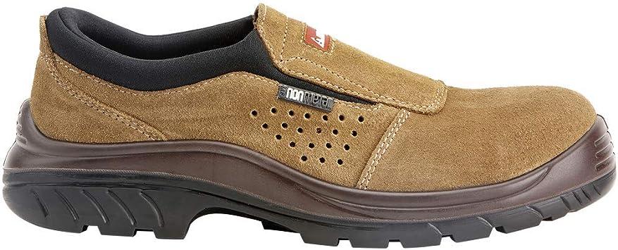 Talla 41 Bellota  7227 S1P SRC Non Metal Marr/ón Zapatos sin Cordones