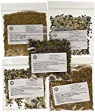 The Sprout House Assorted Organic Sprouting Seeds Mixes Sample, Pack of 12