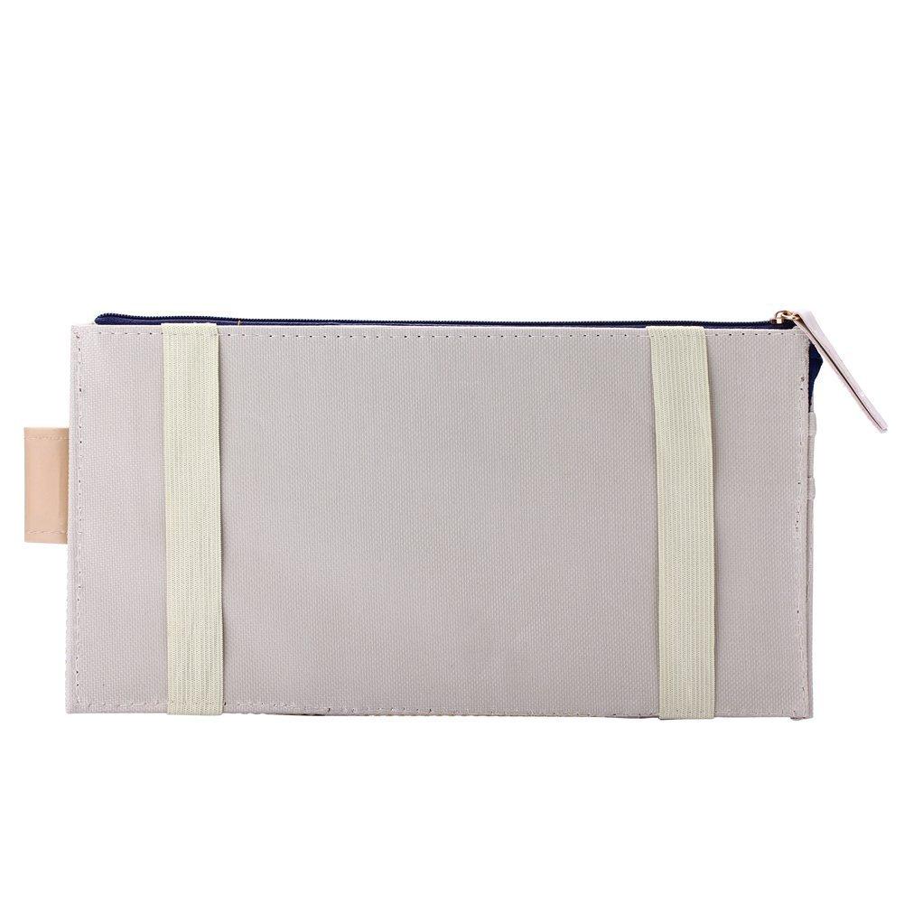 Auto Car Visor Organizer,Honbay New Multi-purpose Auto Car Sun Visor Organizer Pouch Bag Card Storage Holder Beige 4350408345