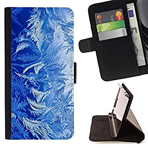 DEVIL CASE - FOR Samsung Galaxy S3 Mini I8190Samsung Galaxy S3 Mini I8190 - Blue Nature Forest Plants Life Art Wallpaper - Style PU Leather Case Wallet Flip Stand Flap Closure Cover