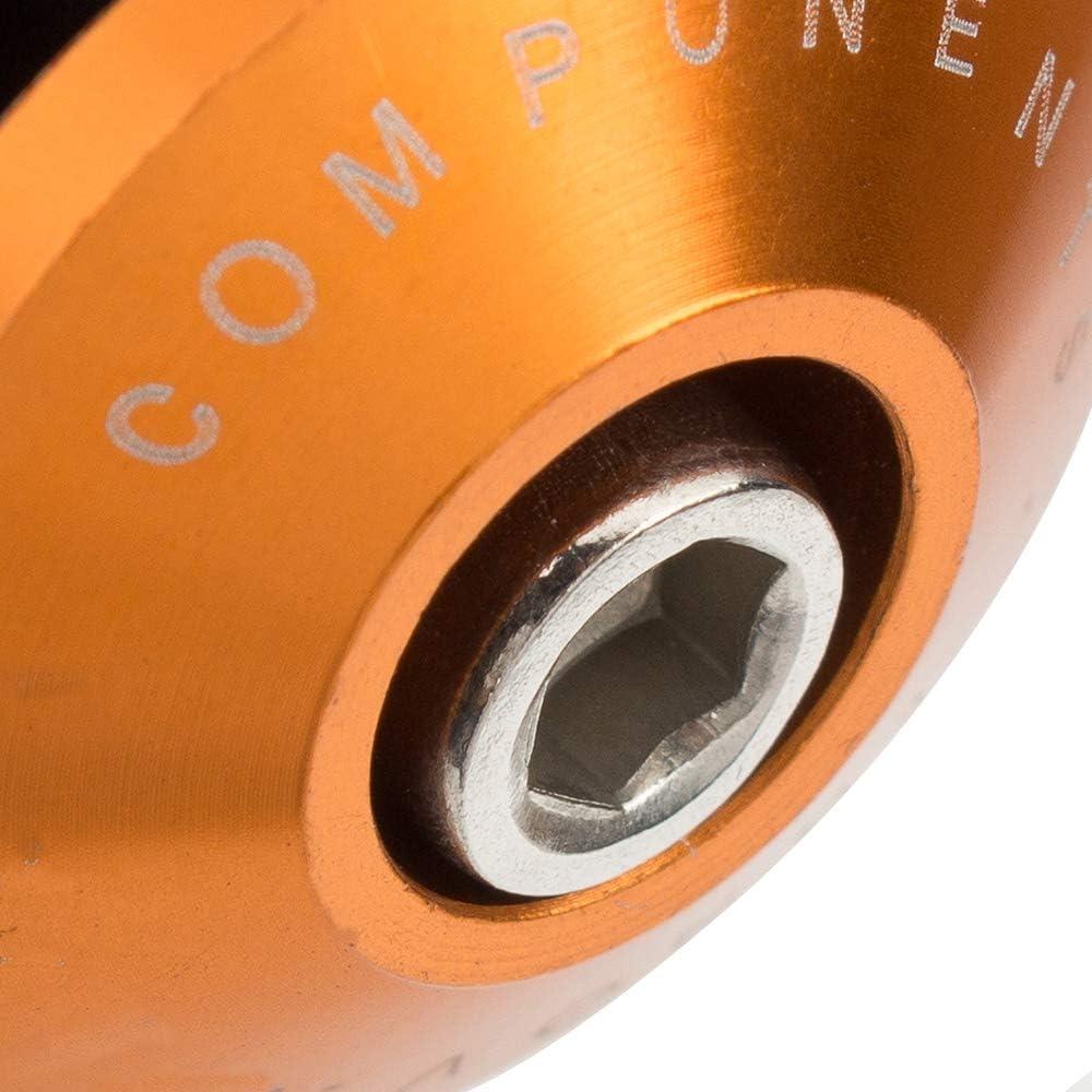 7//8 color tree 1 par Aluminio Tapones de Extremo de Barra Handlebar Tapones para Motocicleta con Manillar de 22 mm