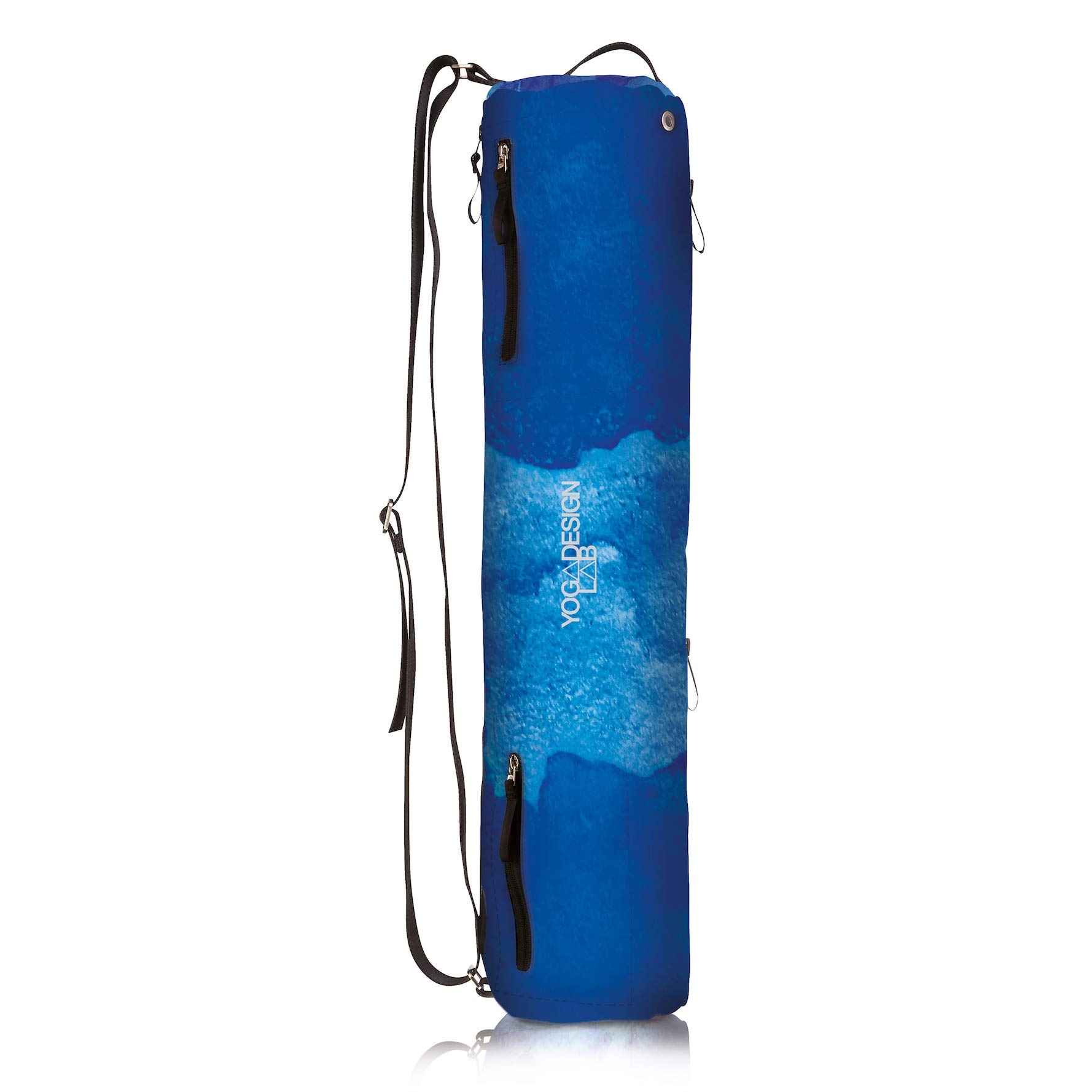YOGA DESIGN LAB The Yoga MAT Bag Premium, All-in-One, Lightweight, Multi Pockets, Extra Durable | Designed in Bali | The Travel Yoga Bag That Fits Your Mat & Your Life! (Uluwatu)