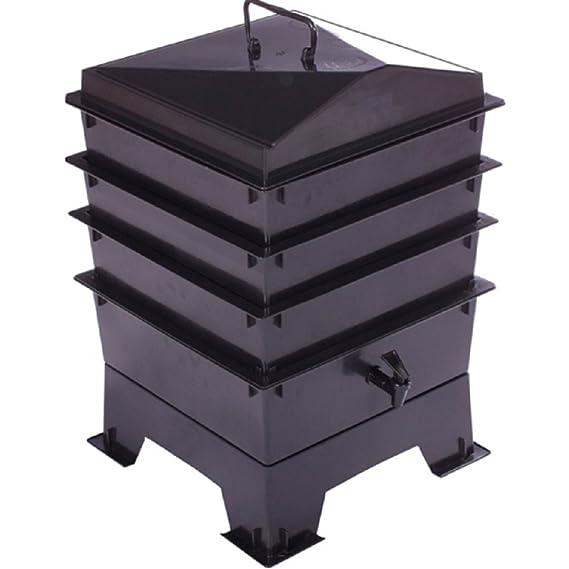 Composter para mascotas estándar con 3 bandejas apilables - contenedor de composta: Amazon.es: Productos para mascotas