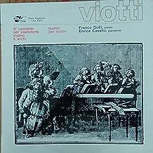 Giovanni Battista Viotti , Orchestra Dell'Angelicum Di Milano , Pierluigi Urbini - Concerto No. 3 In La Maggiore - Duetto Concertante In Re Maggiore, Op. 29 - Disco Angelicum - LPA 5977