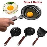 Omelette Designer Mini Egg Pan - Mini Poele ( Design May very)