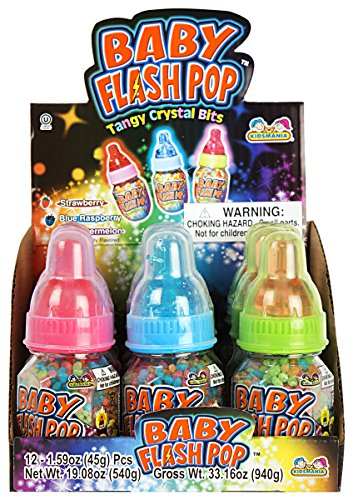 Baby Bottle Flash Pop 12ct