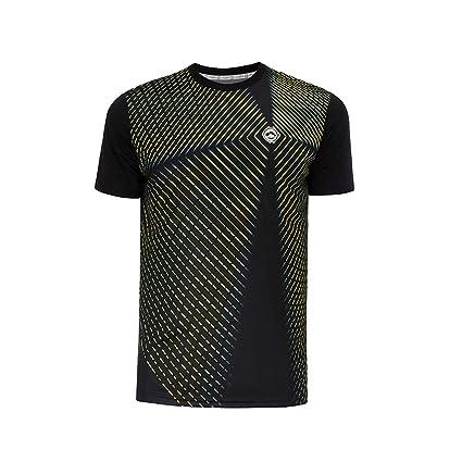 Camiseta Pádel Hombre J´hayber. DA3212 Black. Talla L