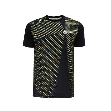 Camiseta Pádel Hombre JŽhayber. DA3212 Black. Talla XL ...