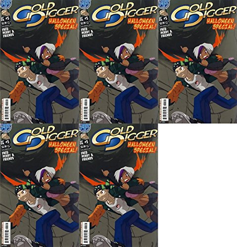 Gold Digger: Halloween Special #5 (2005-2017) Limited Series Ape Entertainment Comics - 5 Comics -