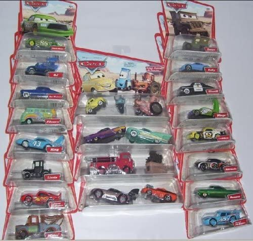 Disney Pixar Cars Series 1 Complete Set 25 Vehicles Original Series