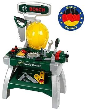 Theo Klein-8612 Bosch banco de trabajo junior, juguete, multicolor (8612)