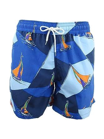 73ba815eeb Image Unavailable. Image not available for. Color: Polo Ralph Lauren Men's  Traveler Swim Trunks ...