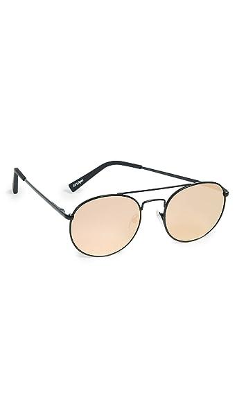 Amazon.com: Le Specs Mujer Revolution anteojos de sol, negro ...