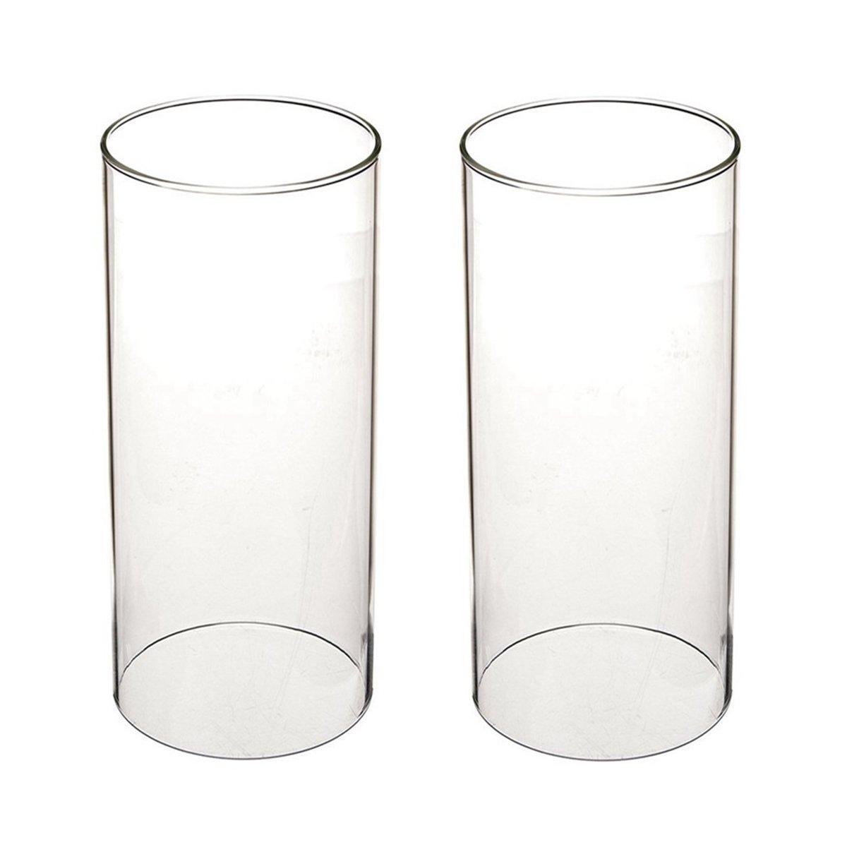 ガラス煙突for Candleオープンエンド、ホウケイ酸ガラス( d3 h8