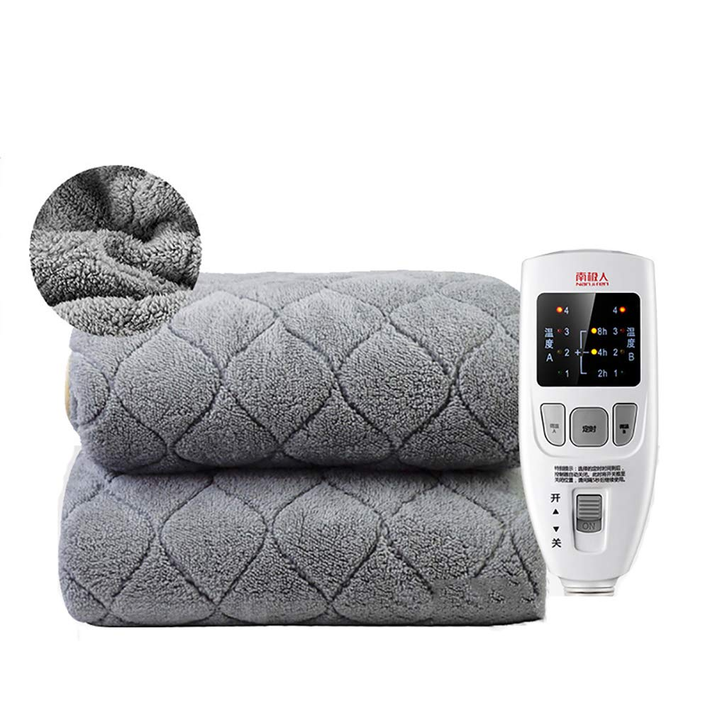 LIWEI Hours Temperature Control Heated Throw Blanket, Safety Insulation Quilting Electric Heated Blanket for Bed and Sofa use-C 180x200cm(71x79inch)