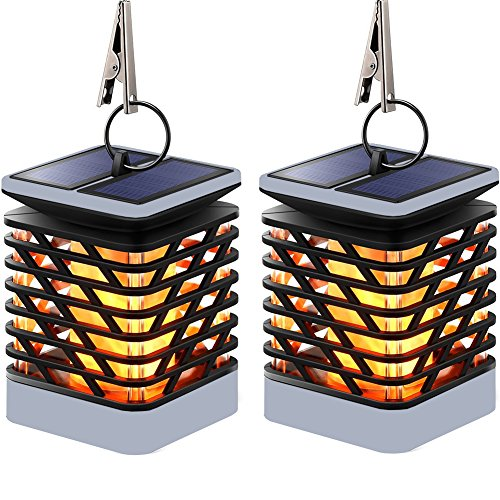 Cheap  Solar Flame Hanging Lights Outdoor Solar Lanterns Light IP55 Waterproof with 75..