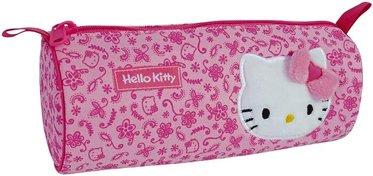 Hello Kitty - Estuche Redondo Fashion, Color Rosa (Giros AB150840): Amazon.es: Juguetes y juegos