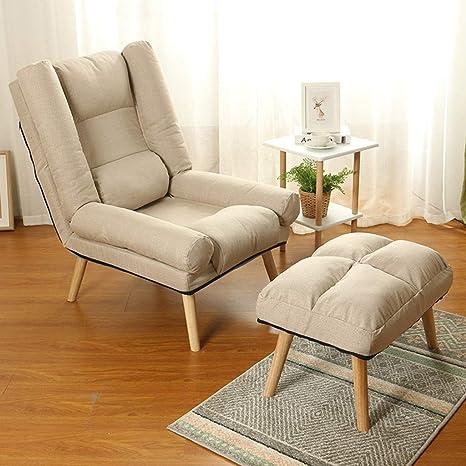 Lazy Sofa Chair Sillón acolchado Sillón reclinable ...