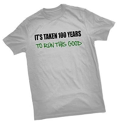 It s tomadas 100 años para ejecutar esta camiseta de Good ...