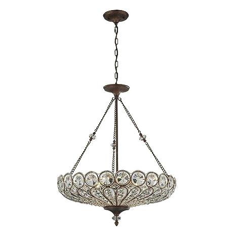 Amazon.com: Titan Lighting Christina - Lámpara de techo (6 ...