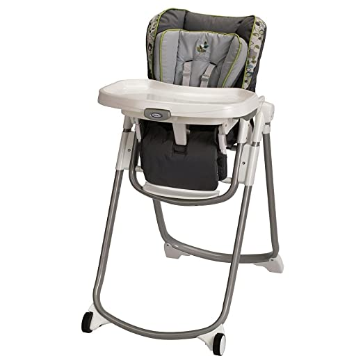 Amazon.com : Graco Slim Spaces High Chair - Caraway : Childrens ...