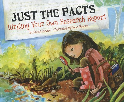 Writer Box (Just the Facts: Writing Your Own Research Report (Writer's Toolbox))
