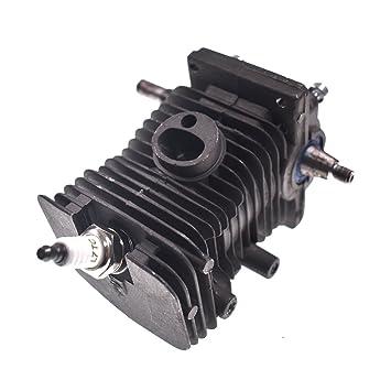Nuevo 38 mm de cilindro de pistón cigüeñal motor sartén para bujías fit Stihl MS170 MS180 018: Amazon.es: Coche y moto