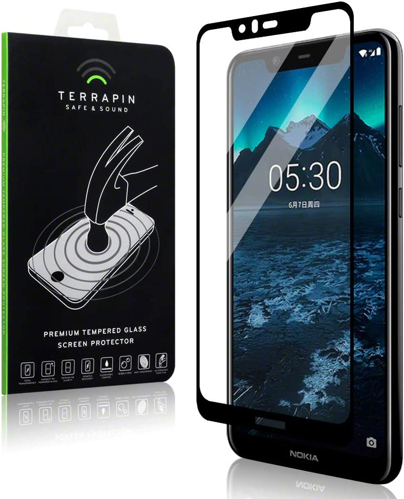 TERRAPIN Nokia 5.1 Plus Pantalla Protectora de Vidrio Templado ...