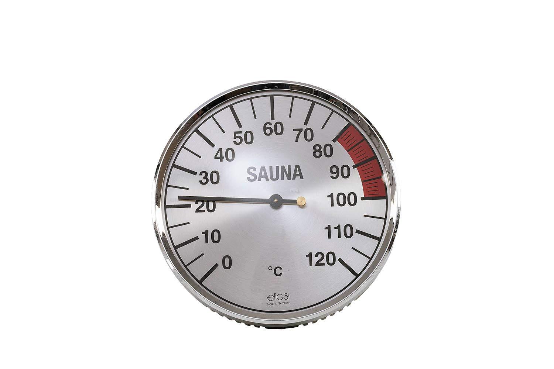 eliga Thermometer silberfarben 135 mm 8316