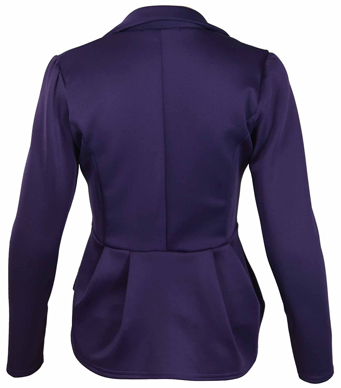 Amazon.com: purplehanger Plus Size Peplum de la mujer ...