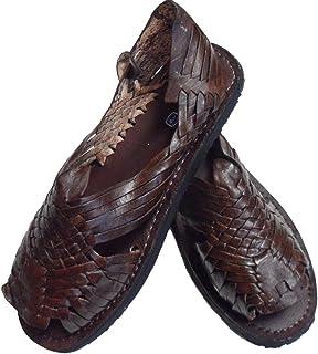 Brown El Presidente Mens Mexican Huarache Sandals